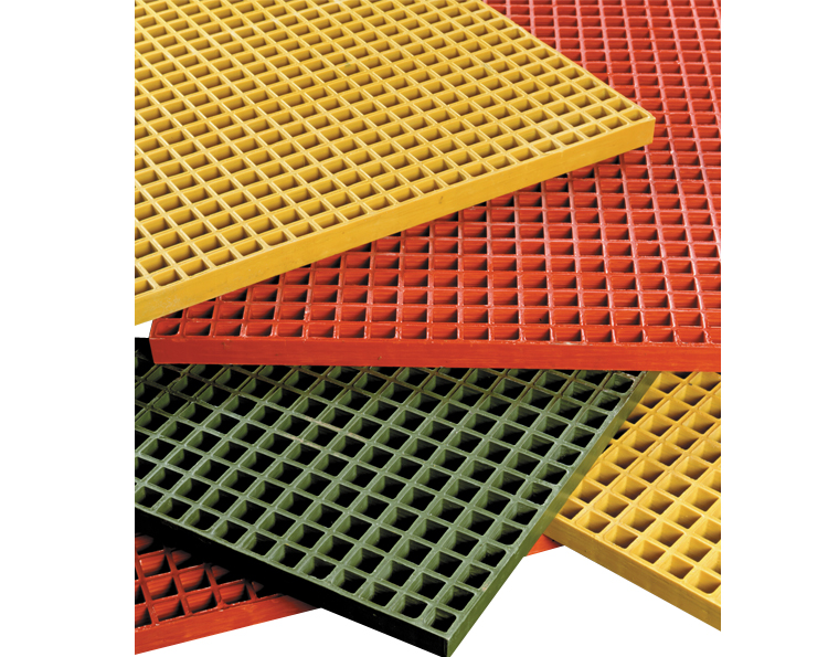 Fiberglass Molded Floor Grating