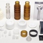 assorted machined components